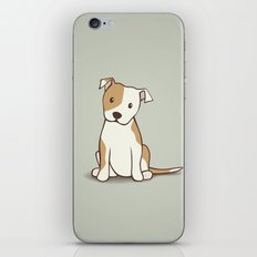 Staffordshire Bull Terrier Dog Illustration iPhone & iPod Skin