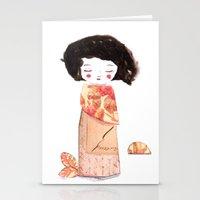 oriental Stationery Cards featuring Oriental by munieca
