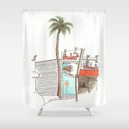 Hodad's Shower Curtain