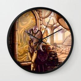 Solas leaves Lavellan Wall Clock