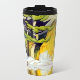 Red Rock Pool by Amanda Martinson Travel Mug