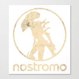 ALIEN (XENOMORPH) 'NOSTROMO' ILLUSTRATION Canvas Print
