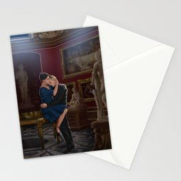comfort before confession Stationery Cards
