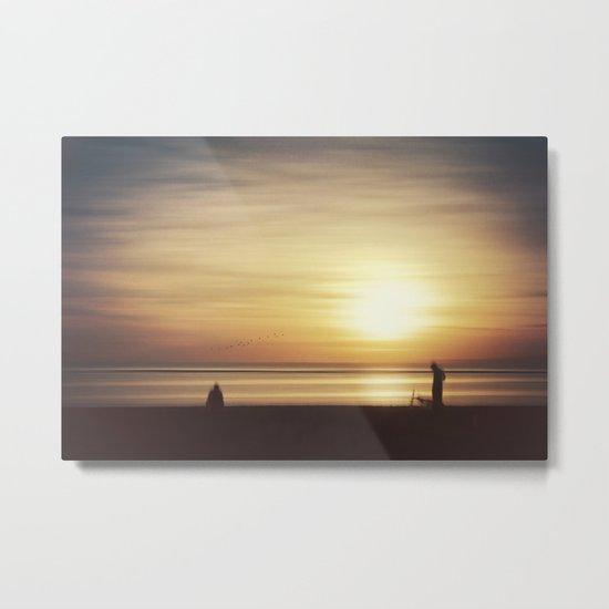 suMMer mOOd - beach sunset Metal Print