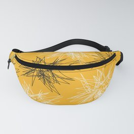 Yellow Squiggles Fanny Pack