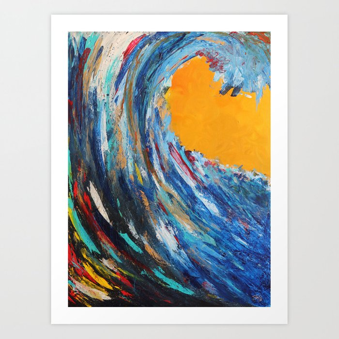 Joy Rises Kunstdrucke