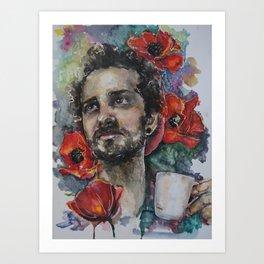 Dmitriy's Coffee Art Print