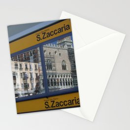 Water Taxi in Venice  Stationery Cards