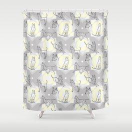 Thai Ridgeback Pattern Shower Curtain