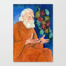 Bede Griffiths: Sage & Monk Canvas Print