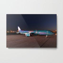 America West Airlines 757 - AZ Diamondbacks Metal Print