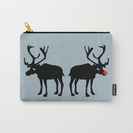 Angry Animals: Rudolph & Prancer Carry-All Pouch