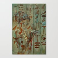 egypt Canvas Prints featuring Egypt by pledent