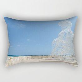 The Guard of Antibes Rectangular Pillow