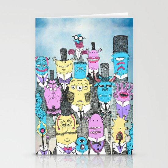 A Few Good Monsters Stationery Cards