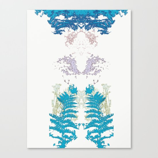 Botanic Body Canvas Print