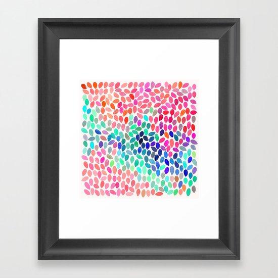 rain 12 Framed Art Print