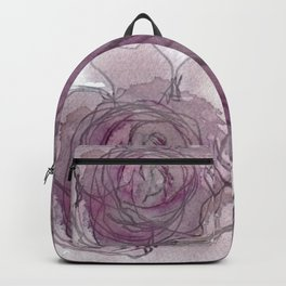 Rose - Abstract Watercolour Backpack