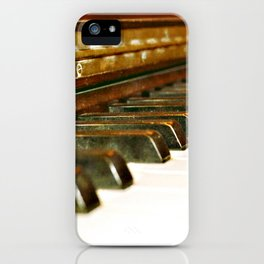 That Old Piano  iPhone Case
