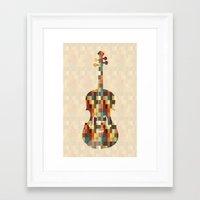 charlie Framed Art Prints featuring Charlie by Halamo Designs
