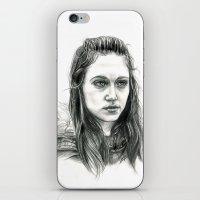 jem iPhone & iPod Skins featuring Jem Walker by laya rose