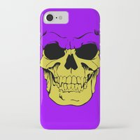 skeletor iPhone & iPod Cases featuring Skeletor by Dukesman