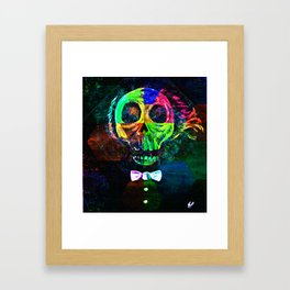 Ghost In The Mirror Framed Art Print