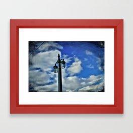 public light Framed Art Print