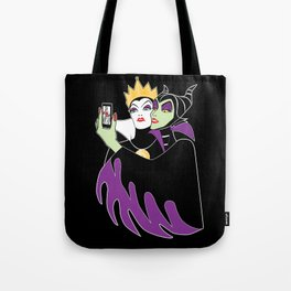 Grimhilde & Maleficent Selfie Tote Bag