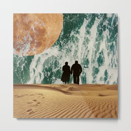 I LOVE YOU TO THE MOON AND BACK #society6 Metal Print