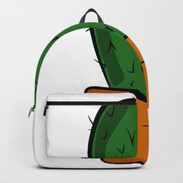 Cactus solo Majeran illustration Backpack