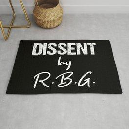 Dissent by RBG Rug