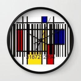 Barcode 004 Wall Clock