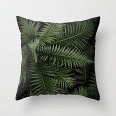 Tropical leaves 02 Throw Pillow