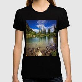 Mountain Lake in the Mt Rainier National Park T-shirt