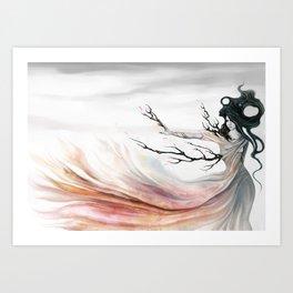 Sakura Revealed Art Print