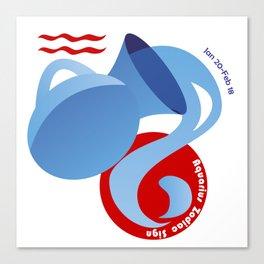 Aquarius - Water Bearer Canvas Print