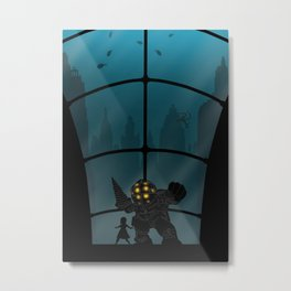 Bioshock | Warriors Landscapes Serries Metal Print