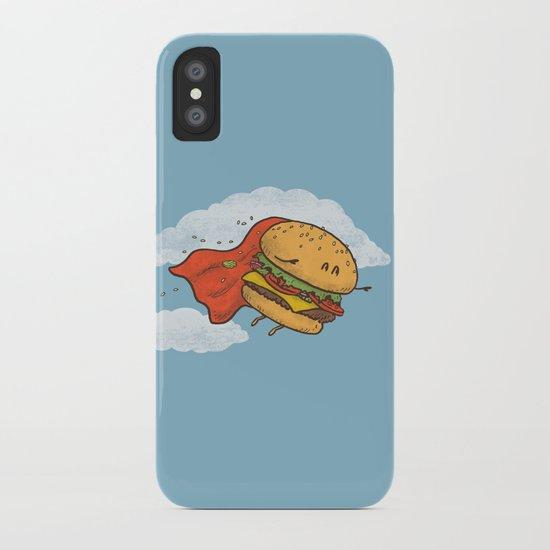 Superburger! iPhone Case