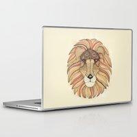 leo Laptop & iPad Skins featuring Leo by Vibeke Koehler