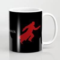blade runner Mugs featuring BLADE RUNNER by tanman1