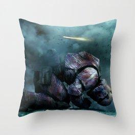 BUFFALO REIGNS Throw Pillow