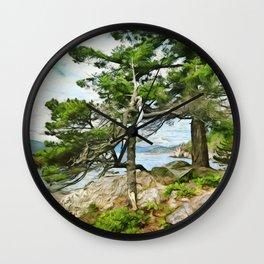 Lighthouse Park on the West Coast Wall Clock