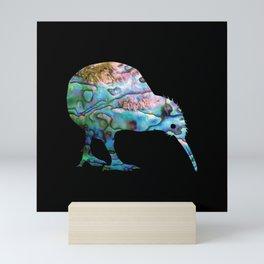 NEW ZEALAND KIWI SIMPLE PAUA Mini Art Print