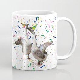 Partying Geese Coffee Mug