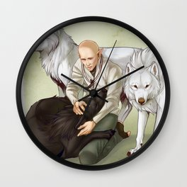 In Hushed Whispers Wall Clock
