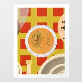 Soup Bone Broth Art Print