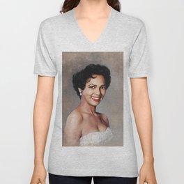 Dorothy Dandridge, Hollywood Legend Unisex V-Neck