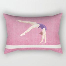 SUMMER GAMES / artistic gymnastics Rectangular Pillow