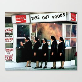 Take Out Foods Canvas Print